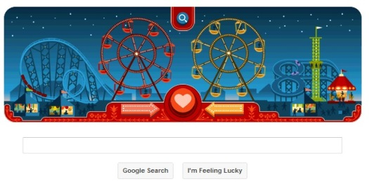 Valentine's day on Google